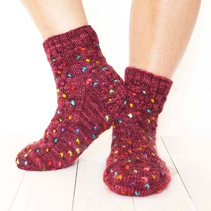 Honey Thrum Socks